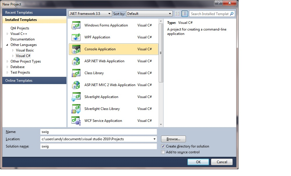 visual studio how to open python file from console