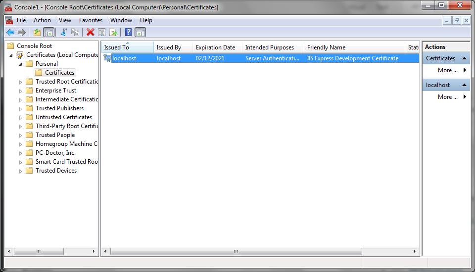 Enable Ssl Visual Studio Web Api Technical Recipes