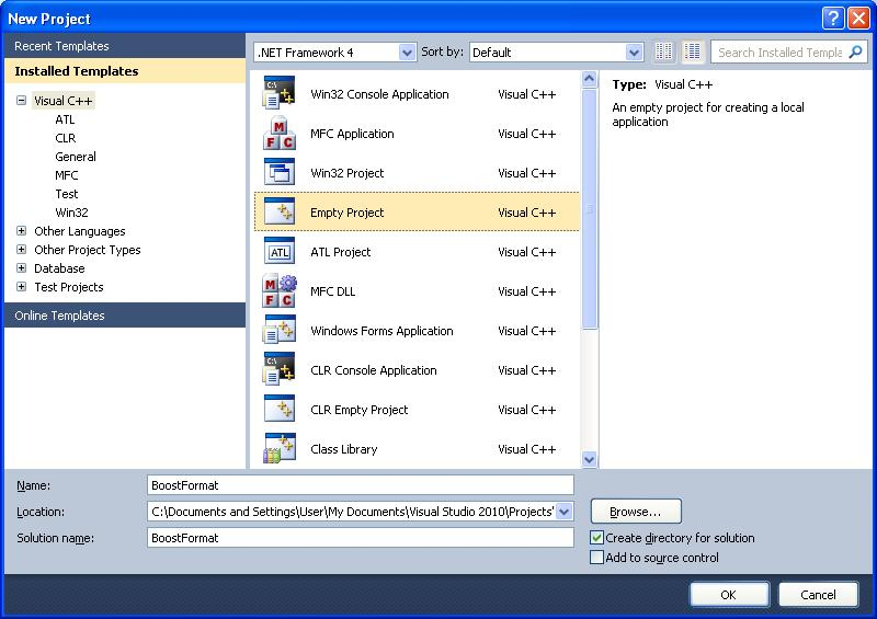 How to use the Boost Libraries in Visual Studio | technical