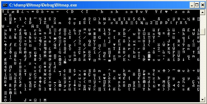Create a bitmap bmp file pixel data | technical-recipes com
