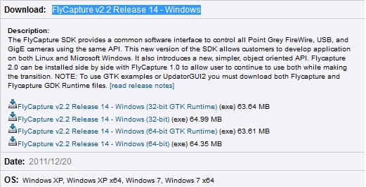 visual studio 2005 windows 7 sdk