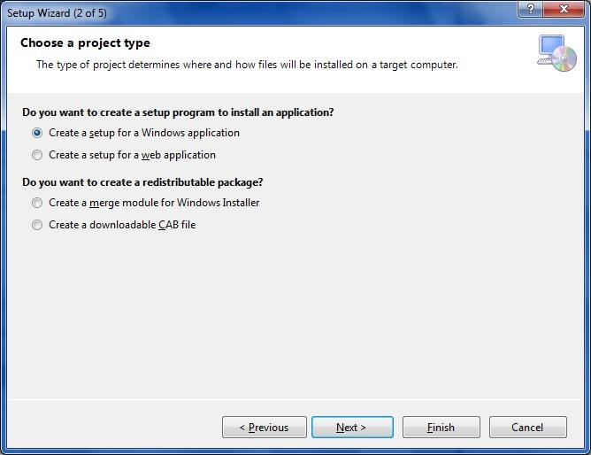 How to Create an Installer using Microsoft Visual Studio