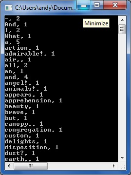 Count words in Text File STL / C++ | technical-recipes com