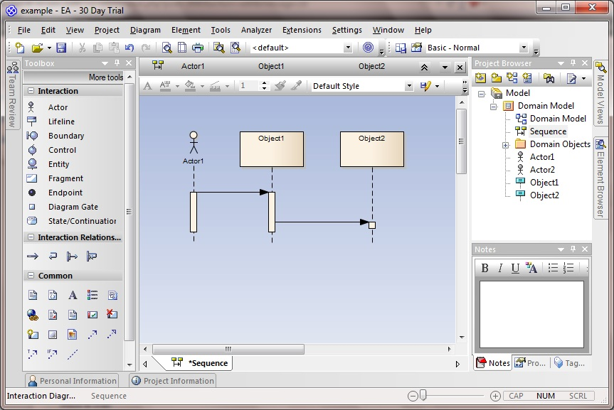 Creating Sequence Diagrams In Enterprise Architect