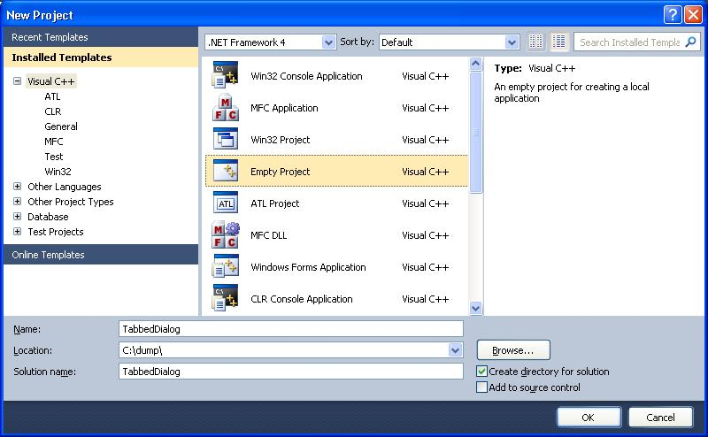 Creating a Tabbed Dialog using the Windows API | technical