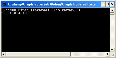 Graph Traversals in C++ and C# | technical-recipes com