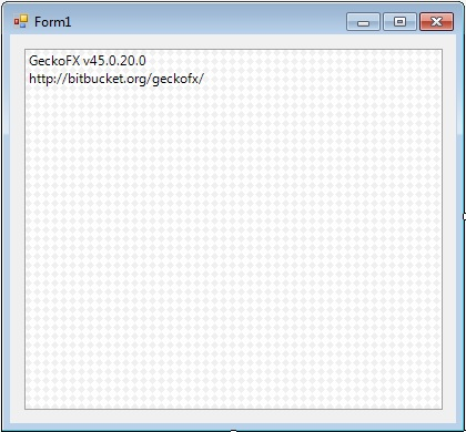 Using the Gecko Web Browser in a C# Winforms Project | technical