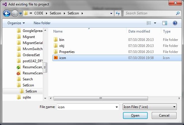 Setting application icon in WPF XAML   technical-recipes com