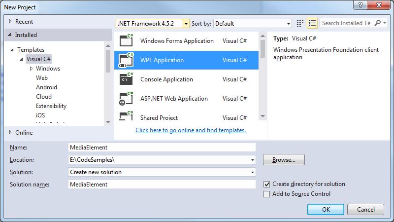 MediaElement videos in WPF / MVVM   technical-recipes com