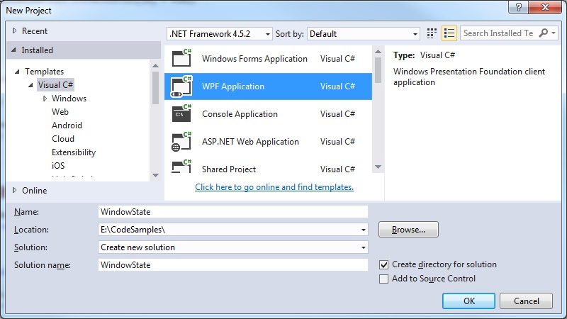How to bind the WindowState property of a window in WPF