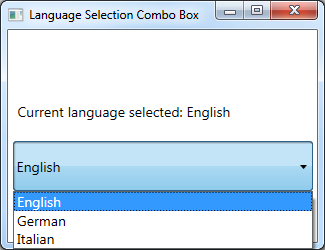 ComboBox SelectedItem WPF MVVM | technical-recipes com