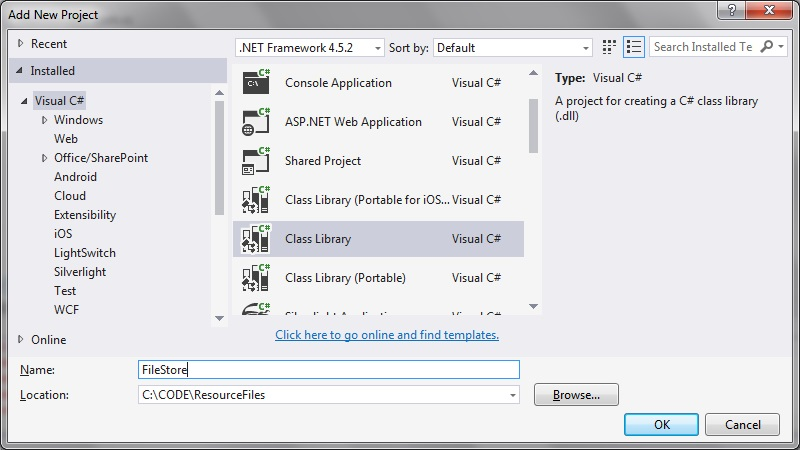 resource files in C# project | technical-recipes com