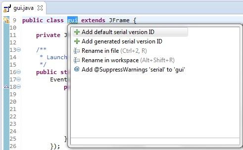Windows application Java Eclipse | technical-recipes com