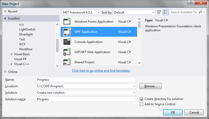 How to use Parallel For in a progress bar in WPF | technical