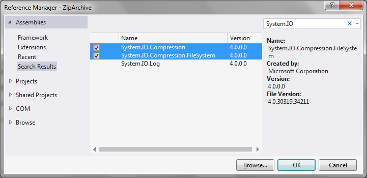 Creating zip archive in C#   technical-recipes com