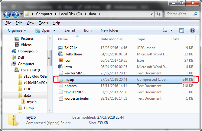 Creating zip archive in C# | technical-recipes com
