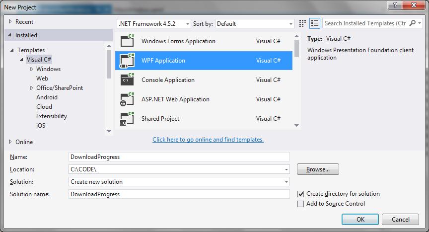 Report progress downloads C# | technical-recipes com